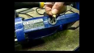 Electrohydraulic Rebar Cutter CX-16-20-25 - Set Up Guidelines