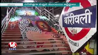 Artists Beautify Borivali Railway Station | Swachh Bharat | V6 News