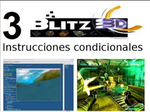Video 3 - Curso Programación de juegos con Blitz 3d - Instrucciones condicionales