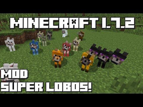 Minecraft 1.7.2 MOD SUPER LOBOS