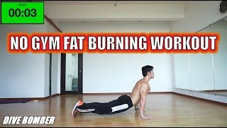 3 minute No Gym Fat Burning - Progression