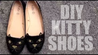 How to make a kitty shoe Taylor Swift inspired