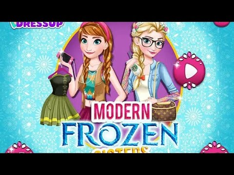 Frozen, Princess Elsa dresses, eat, play tennis GAME Холодное серце игра