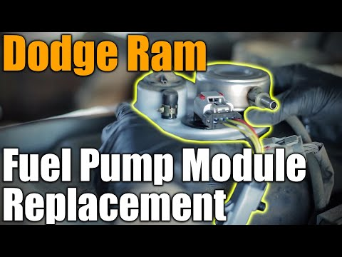 Easy Truck Bed Tilt Fuel Pump Module Replacement - 1996 Dodge Ram 1500