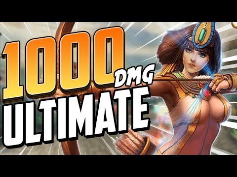 Smite: BURST NEITH BUILD - 1000 Damage Ultimate!?