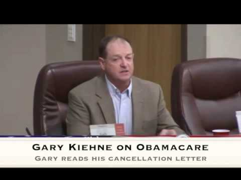 Gary Kiehne Reads His Insurance Cancellation Letter