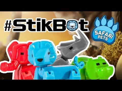 Get Wild   New Stikbot Safari Pets
