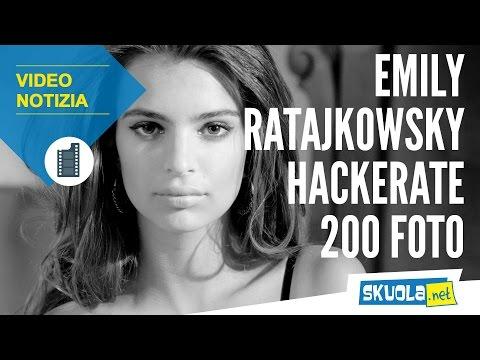 Emily Ratajkowski vittima degli hacker