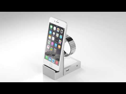 Iwatch Iphone Stand Iphone 6 And Iwatch Charging