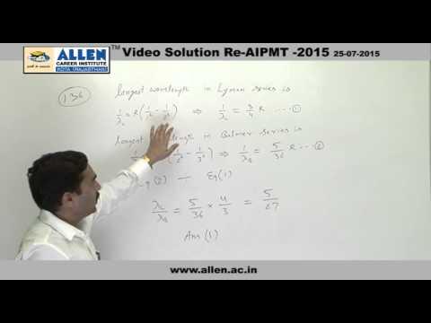 AIPMT 2015 Re-Exam Physics Solution – Q. No. 136 (Paper Code-A)