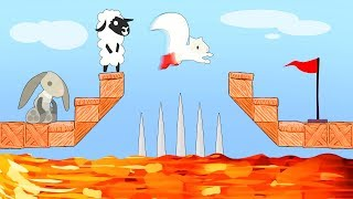 WORLDS DEADLIEST IMPOSSIBLE TRAP! (Ultimate Chicken Horse)