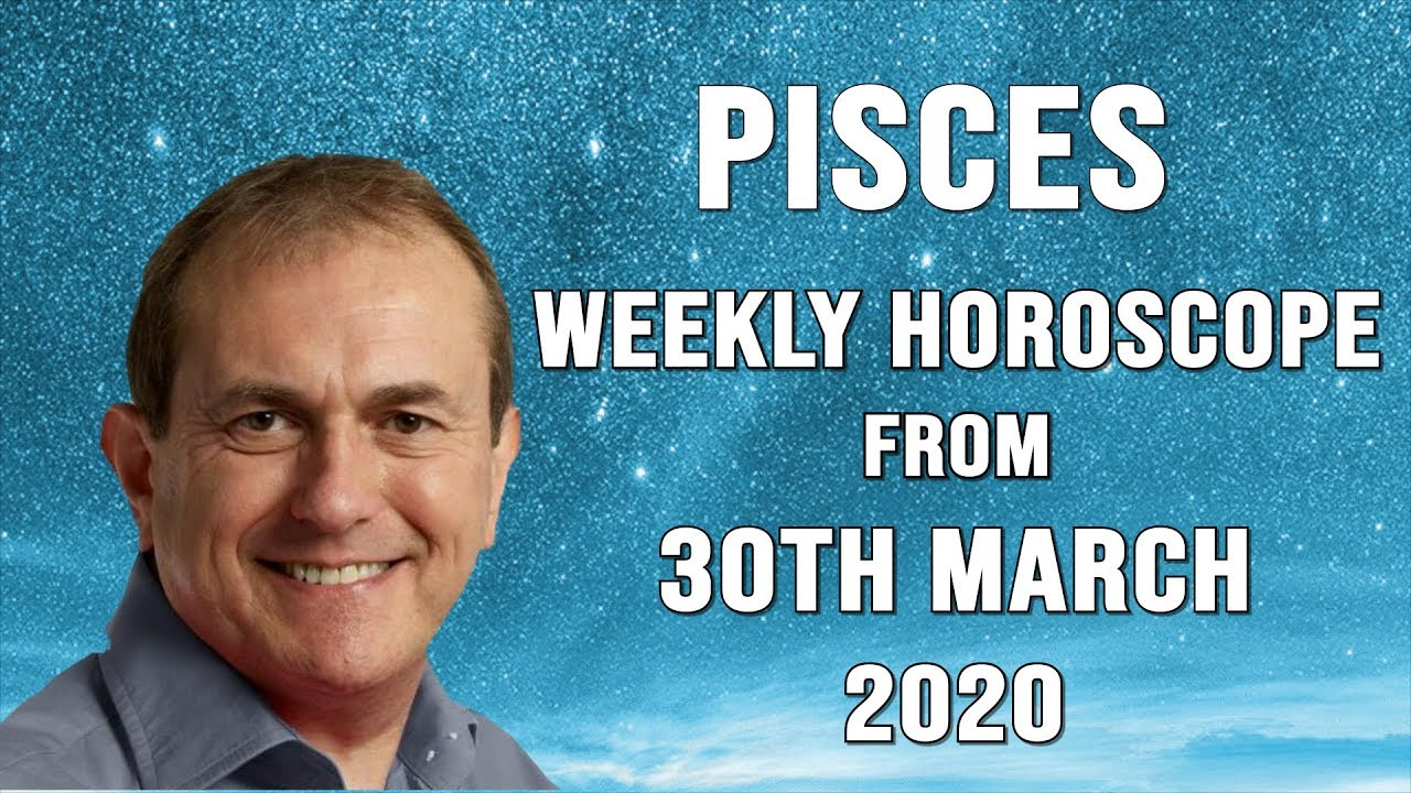 Weekly Horoscopes from 30th March 2020