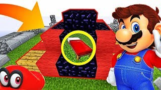 UNE BASE SÉCURISÉE PAR MARIO ?! | Minecraft Bed Wars Moddé