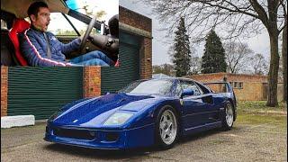 Ferrari 'F40 BLU' First Drive Review! Modern Classics ep3