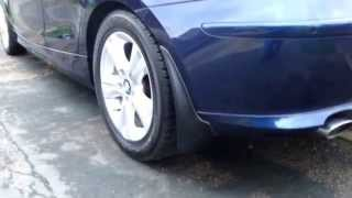 How to Fit Mud Flaps on E87 120d 1 Series BMW
