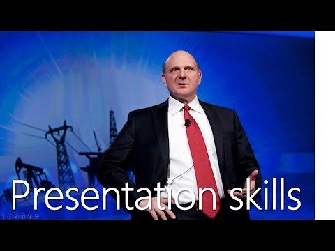 "Разговор о ""Presentation skills""."