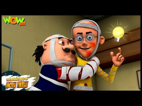 Chand pe Makaan - Motu Patlu in Hindi - 3D Animation Cartoon for Kids -As seen on Nickelodeon thumbnail