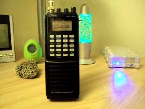 www.RadioScannerAntenna.com // Yupiteru MVT 7100 Analog RadioScanner Police Force