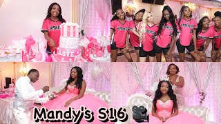 Mandy's Victoria Secret Sweet16