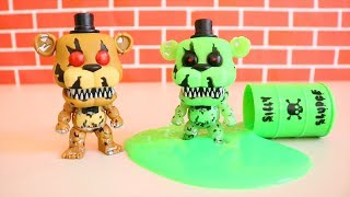 FNAF & Sister Location Funko ! Toys and Dolls Fun with Five Nights at Freddy's Blind Bags FULL BOX