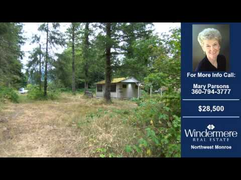 Homes For Sale Gold Bar WA $28500 400-SqFt on 0.31 Acres