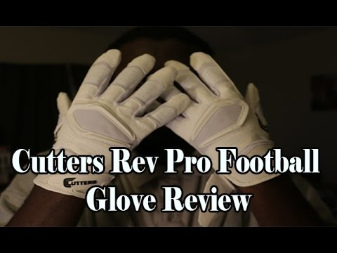 Cutters Rev Pro Football Gloves | Eastbay.com Review