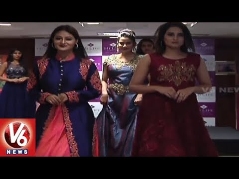Fashion Designers Getting Ready To Attract Customers With Expos In Hyderabad | V6 News