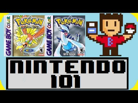 Nintendo 101 - The History of Pokemon Gold/Silver! Music Videos