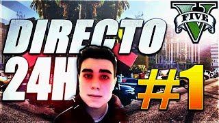 GTA V LIFE ►RETO 24 HORAS EN DIRECTO! #1 ►RolePlay Español GTA 5 REAL LIFE