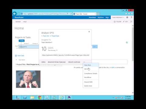 Implementing Task Management with SharePoint 13