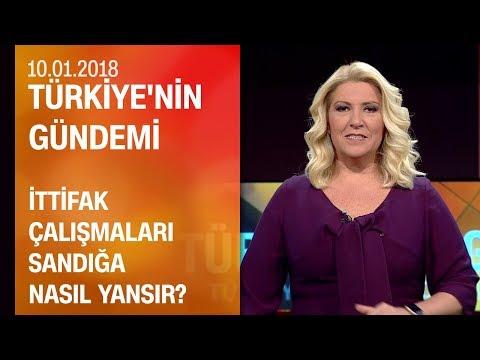 Olası ittifak senaryoları - Türkiye'nin Gündemi 10.01.2018 Çarşamba