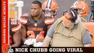 Baker Feeling Dangerous & Nick Chubb's Viral Sitdown | Browns Social Minute