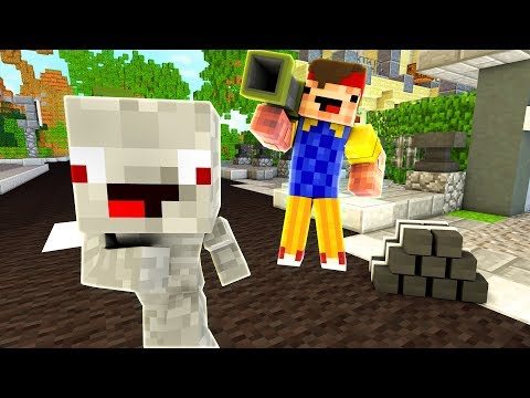 REWINSIDE ESKALIERT! - Minecraft HELLO NEIGHBOR / HELLO NEIGHBOR MINECRAFT
