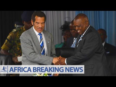 Botswana President Khama Happily Steps Down Leaves Power to Masisi
