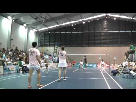 2012 Tahiti International (IC) - XD F - Smith/Veeran [AUS] vs Ng/Bruce [CAN] - Full Match http://towbsss.blogspot.com http://www.derrickng.ca http://www.badm...