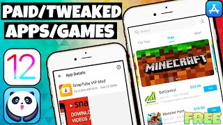 NEW Install Paid Tweaked Apps/Games FREE iOS 12/11 NO Jailbreak iPhone iPad iPod 2019