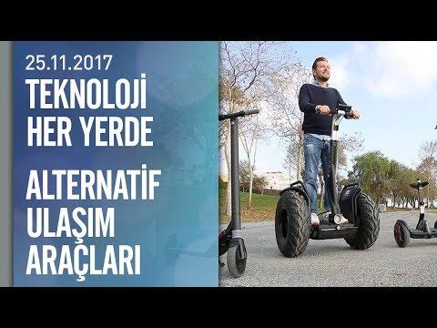 Teknoloji Her Yerde alternatif ulaşım araçlarını deneyimledi - 25.11.2017 Cumartesi