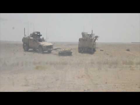 IED Blast Helmand Province Afghanistan
