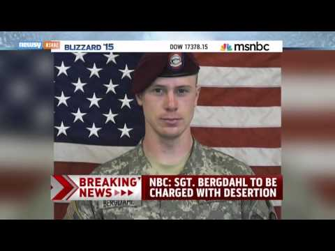 U.S. Army Charges Sgt. Bowe Bergdahl With Desertion