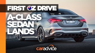 2019 Mercedes-Benz A-Class Sedan review | Premium small car