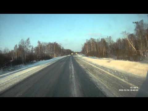 Странное поведение водителя самосвала FAW