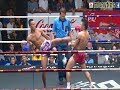 Muay Thai - Prajanchai vs Kiewpayak (พระจันทร์ฉาย vs เขี้ยวพยัคฆ์), Rajadamnern St., Bangkok, 3.8.17