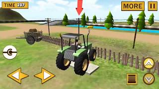 Forage Plow Farming Harvester Gameplay - Play Drive Tractors, Harvesters & Farm Games for Children
