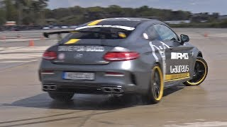 Mercedes-AMG C63 R EDITION 1 DRIFTING!