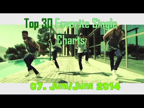 Top 30 Single Charts 07. Juni/June 2014