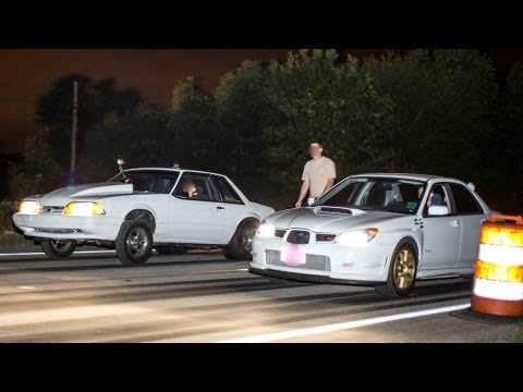 600 - 1100 HP Cars STREET RACING | Mini Cash Days 2013