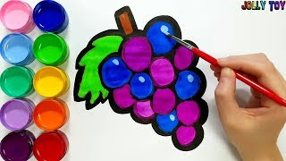 Drawing and Colouring for kids, toddlers I How to Draw #JollyToyArt