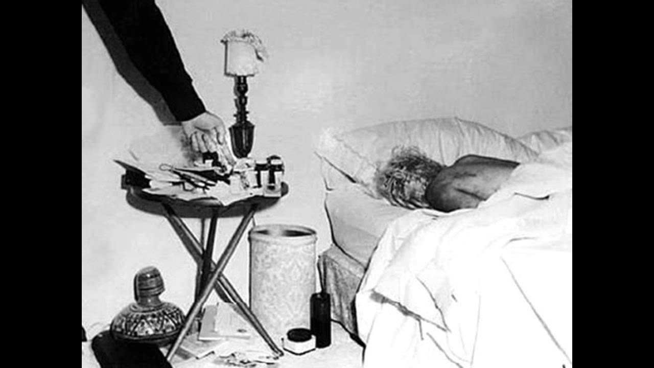 death of marilyn monroe Marilyn monroe's final photoshoot (image: splash) engelberg apparently said dr ralph greenson had informed him her death was from an overdose of nembutal and stated it was suicide.