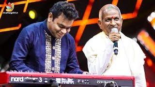 🔴 AR Rahman performs Punnagai Mannan Theme Music | Ilayaraja 75 LIVE program