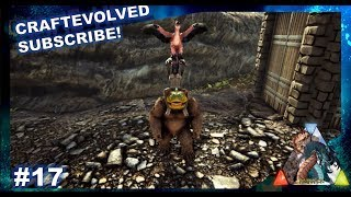 GIGANTOPITHECUS TAMING! FINDING BIGFOOT AND ALMOST GETTING KILLED - Ark: RAGNAROK [DLC Gameplay E17]